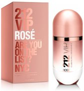 CAROLINA HERRERA 212 VIP ROSE - 80ML - Eau de parfum