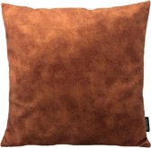 Olivia Roest Kussenhoes | Polyester - Waterafstotend | 45 x 45 cm | Bruin