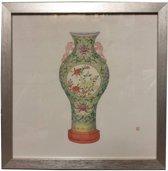 Fine Asianliving Schilderij Chinese Vintage Pot