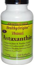 Astaxanthin, 4 mg, 150 softgels, Healthy Origins