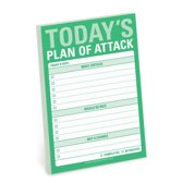 Knock Knock Todays Plan of Attack Great Big Stickies