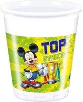 Mickey Mouse Bekers Versiering - 8 stuks