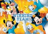 Fotobehang Papier Disney | Geel | 254x184cm