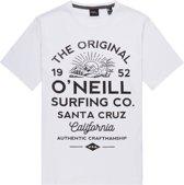 O'Neill Shirt - Maat S  - Mannen - wit/zwart