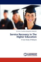 Service Recovery in the Higher Education