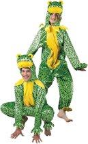 Pluche Kikker - Kostuum - Maat M-L