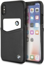 BMW Zwart Leather Card Case voor Apple iPhone X/XS (5.8'')