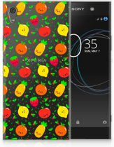 Sony Xperia XA1 Ultra TPU Hoesje Design Fruits