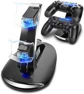 Oplaad Station - Docking Station voor PS4 Controllers + LED licht
