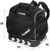Hummel Pro Backpack Supreme Sporttas - zwart - 38 x 35 x 30cm