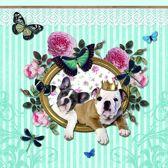 Papier Servetten - Royal Dogs - Decoupage - 20 stuks