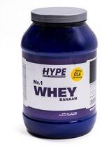 Hype Nutrition Nr.1 Whey  Proteineshake 2 kg. Banaan