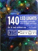 Multicolor kerstverlichting led - 140 lichtjes