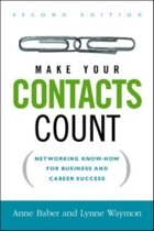 Make Your Contacts Count