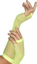 Visnet handschoenen groen