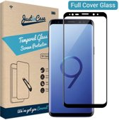 Just in Case Full Cover Tempered Glass Samsung Galaxy S9 Protector - Black