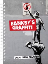 Banksy Graffiti 2020 Diary Planner - 15cm x 21cm