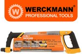 Werckmann Professional 4-in1 Handzaag Metaal - 30cm