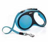 Flexi New Comfort Hondenriem - Blauw - M - 5M