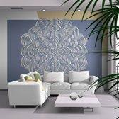 Fotobehang - Witte versiering