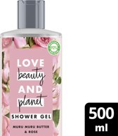 Love Beauty and Planet Douchegel Bountiful Moisture - 500 ml - Muru Muru Butter & Rose