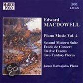 Macdowell: Piano Music 4