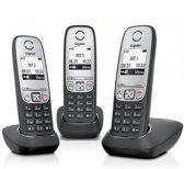 Gigaset A415 - Trio DECT telefoon - Zwart