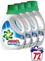 Ariel Alpine Kwartaalbox - 72 Wasbeurten -  4 x 1170 ml  - Vloeibaar Wasmiddel