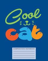 Cool Cat Composition Notebook