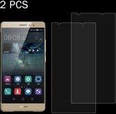 Let op type!! 2 stuks voor Huawei Mate S 0 26 mm 9H oppervlaktehardheid 2.5D explosieveilige gehard glas scherm Film