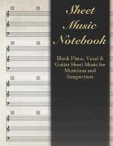 Sheet Music Notebook