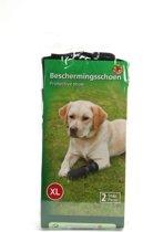 Beeztees Beschermingsschoen - Hond - Zwart - XL - 2 stuks