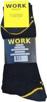 Work werk sokken 10 paar zwart maat 47-50