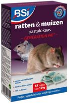 Generation Pat 150gr pastalokaas - tegen muizen en ratten - muizengif rattengif