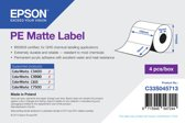 Epson PE Matte Label - Die-cut Roll: 102mm x 76mm, 1570 labels