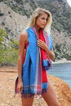Mycha Ibiza – Strandlaken – strandhanddoek – kikoy – Cala Tarida – 100% katoen