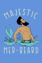 Majestic Mer Beard: Fishing Logbook Journal