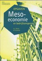 Meso economie en bedrijfsomgeving / opgaven