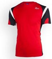 Dutton T-shirt - Rood/Zwart  - Rogelli