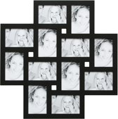 Deknudt Frames multifotolijst, zwart,    12 x (10x15)