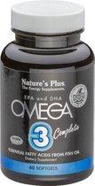 Omega 3 Complete 60 softgels, Nature's Plus