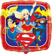 DC Super Hero Girls™ aluminium comic book ballon - Feestdecoratievoorwerp