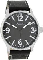 OOZOO Timepieces C7409 - Metaal Zwart Zwart - 45mm