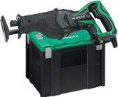 Hitachi CR18DSL(W4S) Accu Reciprozaag 18V exclusief accu's en lader, in systainer (Prijs per stuk)