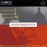 Shostakovich - Symf. Nos. 5, 6 & 10
