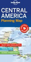 Lonely planet: central america planning map (1st ed)
