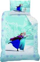 Disney Frozen Skating - Dekbedovertrek - Multi -  110x140