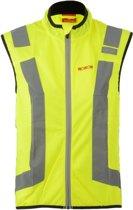 Wowow Flandrien  Fietsjas - Maat M  - Unisex - geel/zilver/zwart
