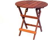 Bol ronde houten tafel cm