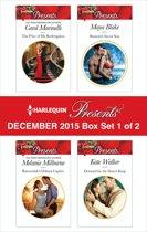 Harlequin Presents December 2015 - Box Set 1 of 2